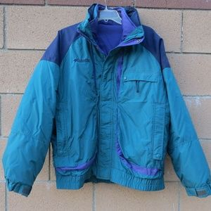 Mens Columbia Heavy Cold Weather Snow Jacket